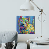 Marvin the Westie Canvas Print
