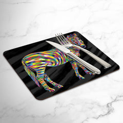 Martin the Zebra Placemats