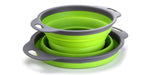 Load image into Gallery viewer, TANSUNG 2 Pack Collapsible Colanders - TS002 -Green
