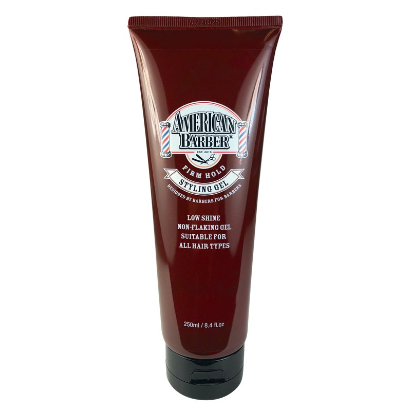 American Barber Firm Hold Styling Gel 250ml