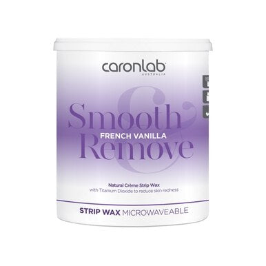 Caronlab French Vanilla Strip Wax - Microwaveable 800ml