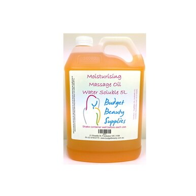 BBS Moisturising Massage Oil W/Soluble 5 litre