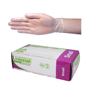 Livingstone Vinyl Examination Gloves Low Powder Small 100pcs