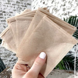 Paper Drawstring Filters Pack