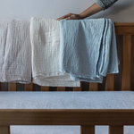 Load image into Gallery viewer, Crinkle Cotton Baby Blanket