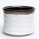 Load image into Gallery viewer, Drip Glazed Stoneware Container