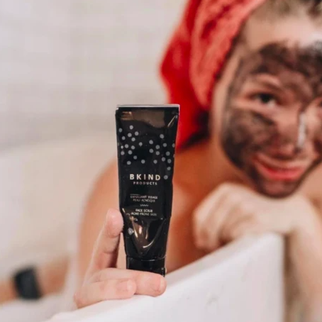 BKIND Purifying Charcoal Face Scrub