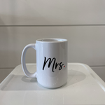 Load image into Gallery viewer, Mr. and Mrs. Mugs