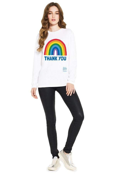 Adult Thank You NHS Long Sleeve T-Shirt - Kindred