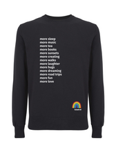 Load image into Gallery viewer, More Sleep Jumper - Various Colours - Adult