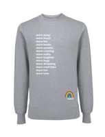 More Sleep Jumper - Various Colours - Adult