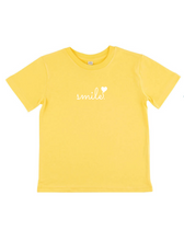 Load image into Gallery viewer, Kid's Smile T-Shirt - Various Colours