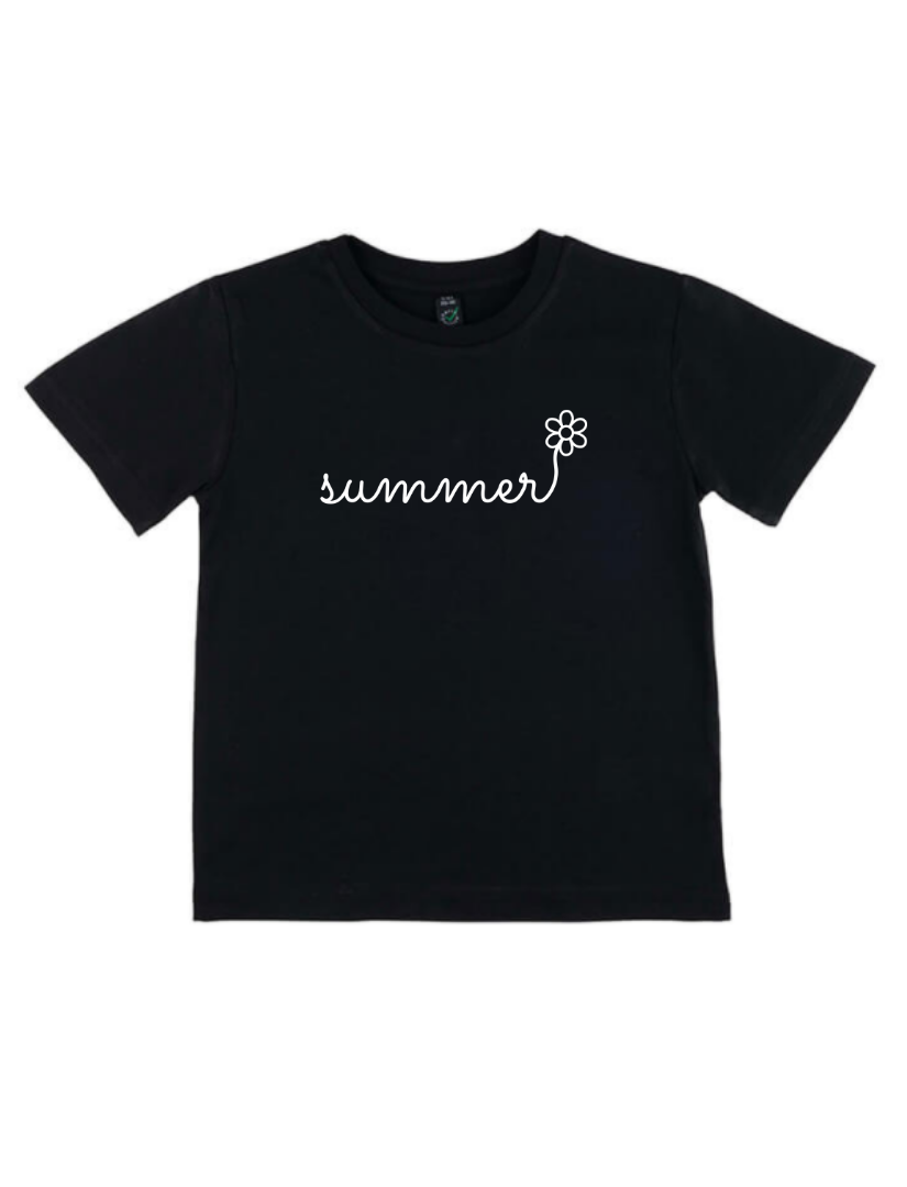 Kid's Summer T-Shirt - Various Colours