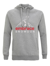 Load image into Gallery viewer, Embrace Snowden Hoodie - bekindbeembrace -