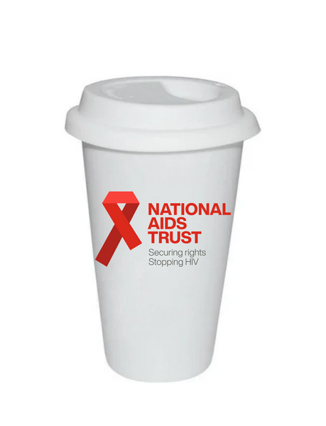 National AIDS Trust Thermal Travel Cup