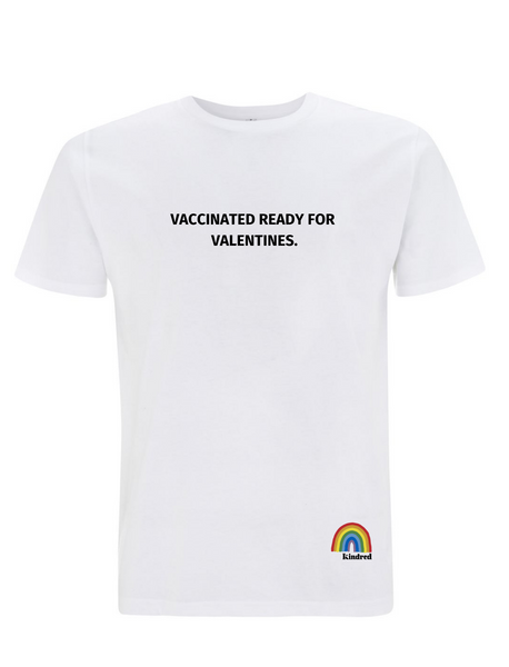 Vaccinated for Valentines T-Shirt - Adult