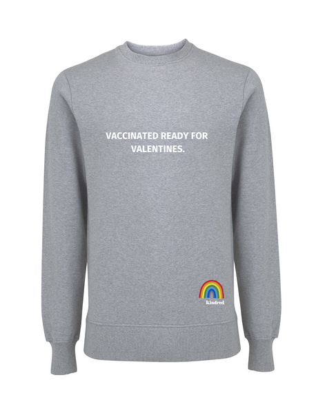 Vaccinated for Valentines- Various Colours - Adult