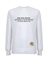 Load image into Gallery viewer, New Year, New Me Jumper - Various Colours - Adult