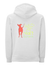 Load image into Gallery viewer, Wild at Heart Hoodie White