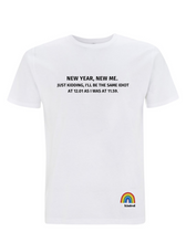 Load image into Gallery viewer, New Year, New Me T-Shirt - Adult