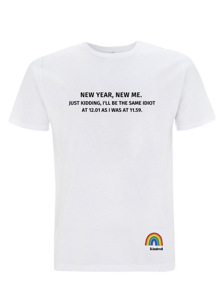 New Year, New Me T-Shirt - Adult