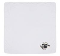 Shaun the Sheep Blanket White