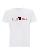 Load image into Gallery viewer, Embrace Kids Alfie Bear Paw Print Stamp T-Shirt