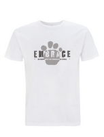 Embrace Paw Print Stamp Kids T-Shirt