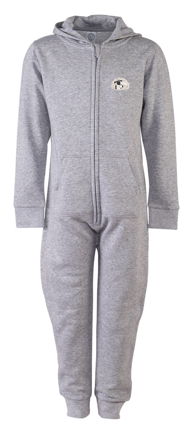 Shaun Kids Onesie Grey - Various Designs
