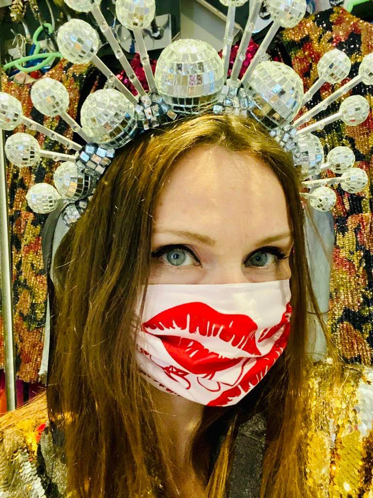 Sophie Ellis-Bextor Signature Lips Face Covering