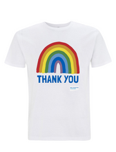 Load image into Gallery viewer, Official Thank You NHS Rainbow T-Shirt Unisex