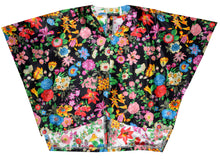 Load image into Gallery viewer, Exquisite One of a Kind Floral 100% Silk Poncho