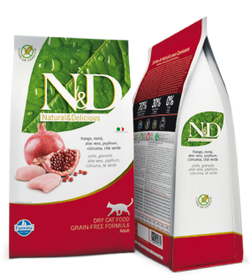 Farmina N & D Cat Food Chicken and Pomegranate