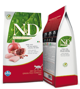 Farmina N&D Cat Food Chicken and Pomegranate 3lbs