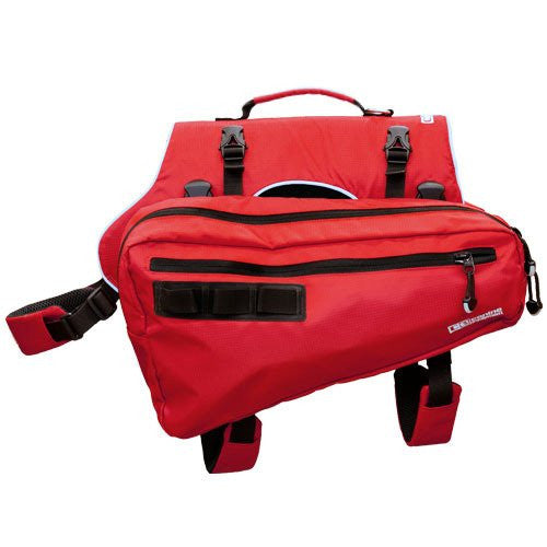 Canine Equipment Ultimate Trail Dog Pack Red Med