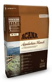 Acana  Dog Food  Appalachian Ranch 25#
