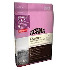 Acana  Dog Food  Lamb & Apple 4.5#