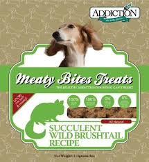 Addiction Dog Treats Brushtail 4 oz