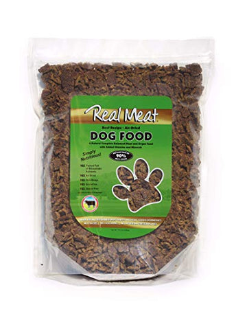 Real Meat Dog Food Air-Dried Beef - 10lb