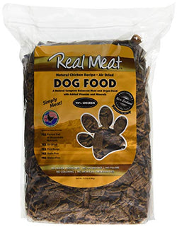 Real Meat Dog Food Air-Dried Chicken - 10lb