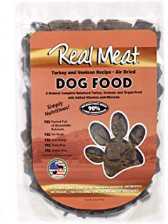 Real Meat Dog Food Air-Dried Turkey & Venison - 10lb