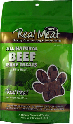 Real Meat Dog Treats Beef - 4oz