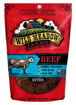 Wild Meadow Farms Beef Treats - 4oz