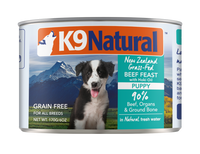 K9 Natural Dog Food Beef Feast With Hoki Oil 6oz