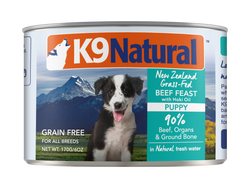 K9 Natural Dog Food Beef Feast With Hoki Oil