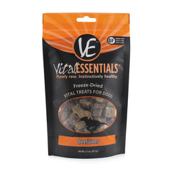 Vital Essentials Freeze-Dried Beef Liver Treats - 2.1oz