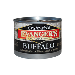 Evanger's Canned Dog Food Buffalo - 6oz