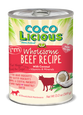 Cocolicious Canned Dog Food Beef Recipe