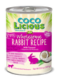 Cocolicious Canned Dog Food Rabbit Recipe