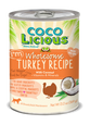Cocolicious Canned Dog Food Turkey Recipe